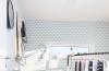 卧室白色窗台现代简约风格装潢设计图片