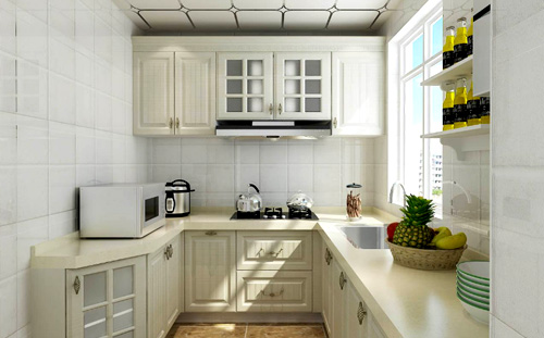 Kitchen decoration color choice and mix