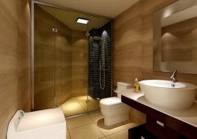 巧妙设计卫生间,空间翻倍用!