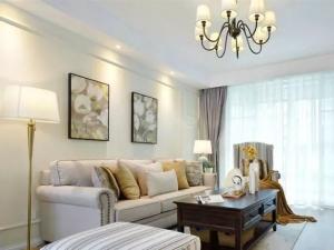120平现代美式温馨三居,简洁实用