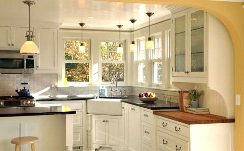 Home decoration kitchen method