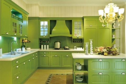 What color kitchen cabinets look good to help you create a comfortable kitchen quality