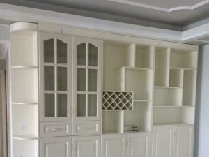 Hemei decoration whole cabinet custom effect display